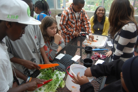 Building community through food
