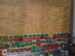 the wall of seed packets starts to fill...