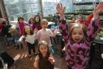 warm up w/ tea & a dance party!