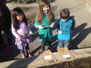 Kindergarten in the garden: priceless