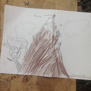 machu Pichu postcard